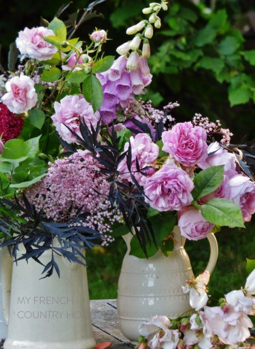 The Rapid Bouquet A Recipe For You Country Flower Arrangements