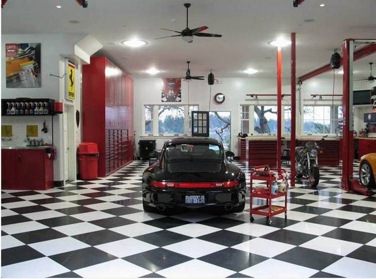 Dream Garages Too Nice To Park In (18 Photos)