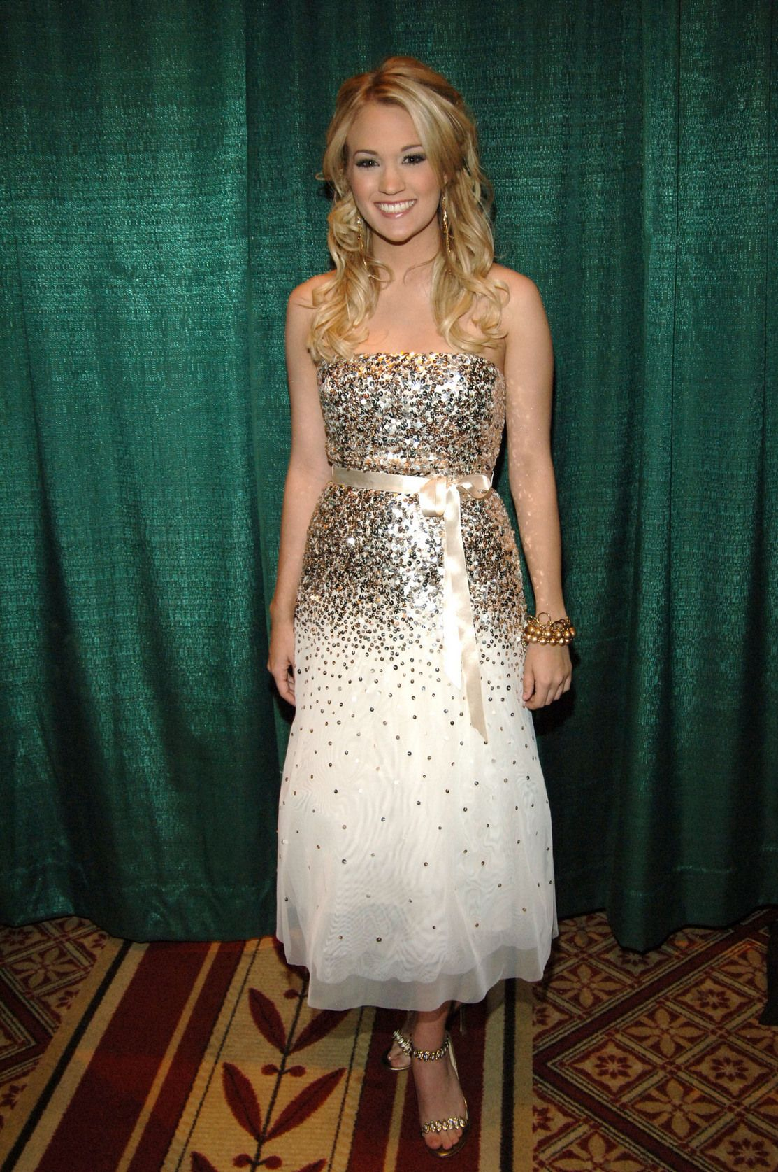 Sparkly dress future grad dresses pinterest carrie ugly shoes