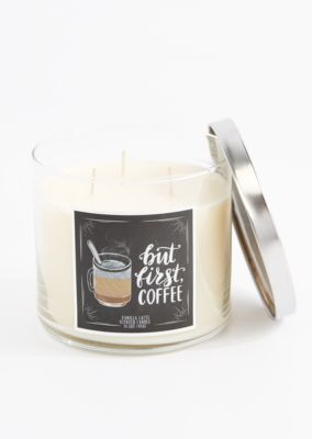 3 Wick But First Coffee Scented Candle In 2019 Candles Scented