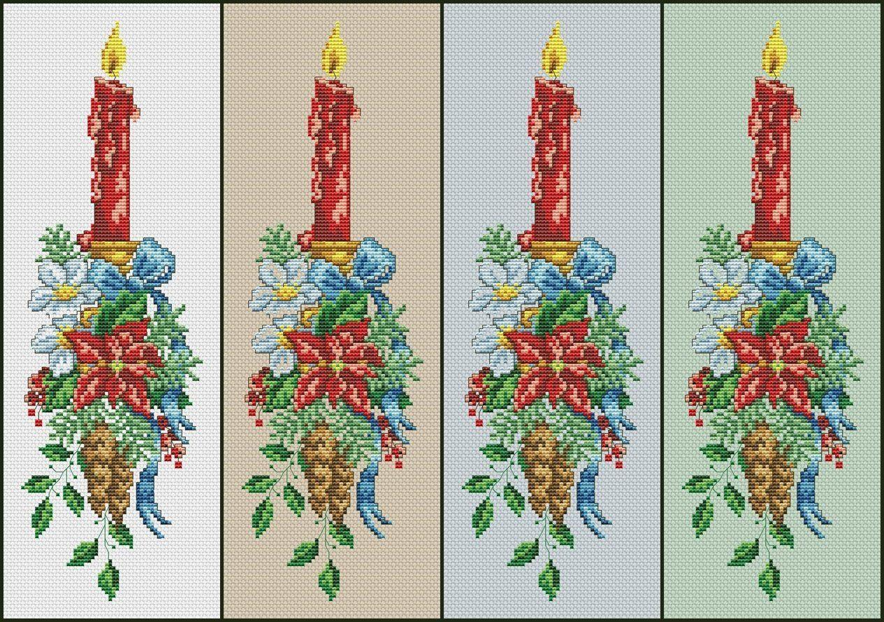 Christmas Candle Cross Stitch Chart Pdf Xsd Download Cross Stitch Christmas Candle Cross Stitch Patterns