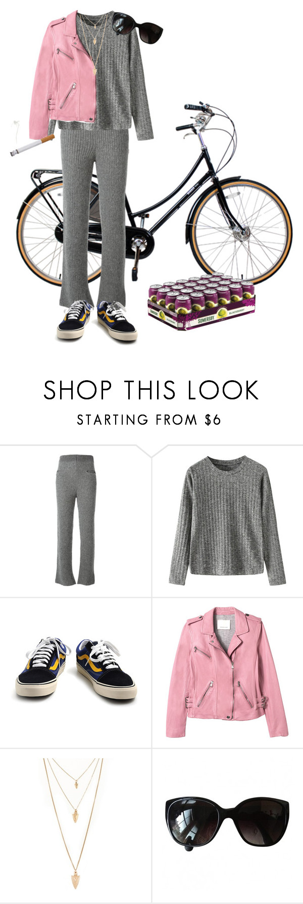 """""""Untitled #202"""" by frederikkematilder on Polyvore featuring Haider Ackermann, Vans, Rebecca Taylor, Forever 21 and Chanel"""