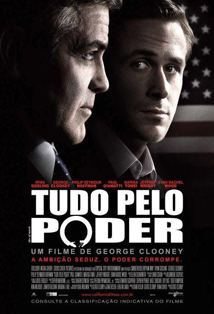 Tudo Pelo Poder George Clooney Filmes Capas De Filmes