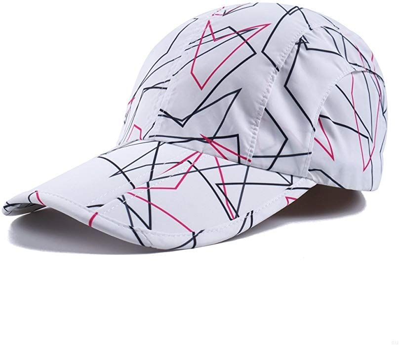 55c54d83 White Camo Hats,Camouflage Caps Breathable Running Quick Dry Folding Brim  Hat Under 10 UV Sun Protection Visor Hiking Baseball Hats Adult Outdoor  Fishing ...