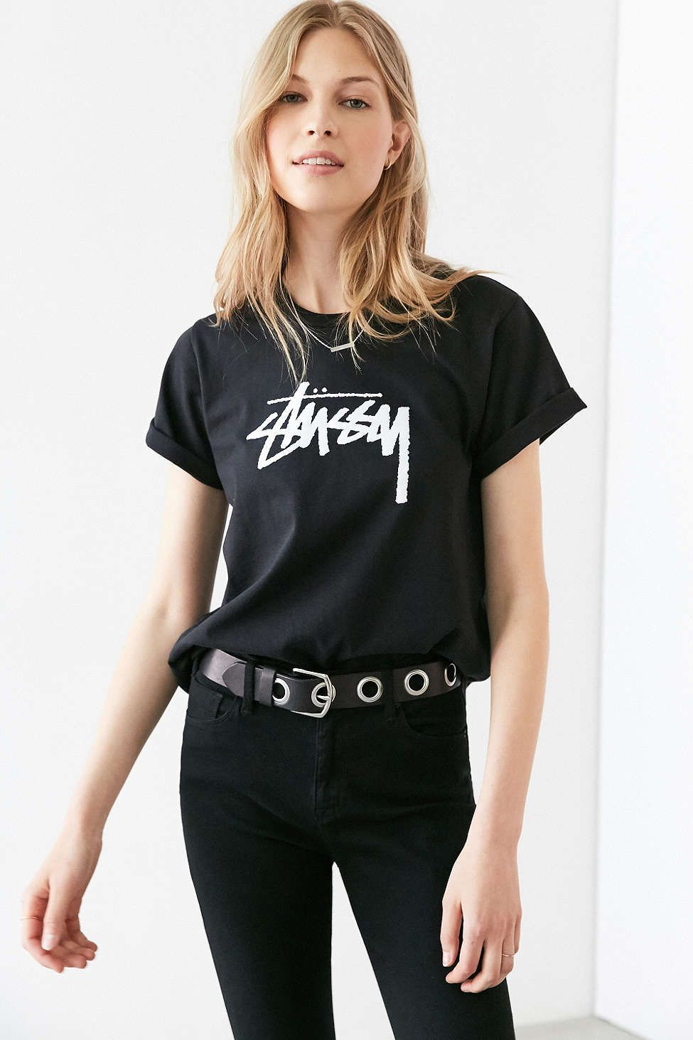 Stussy clothing for women
