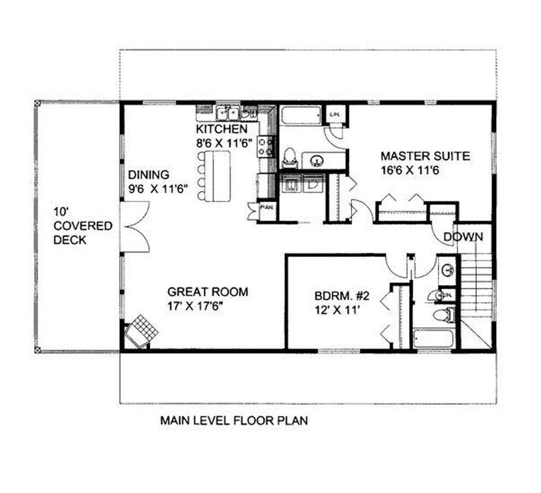 Hpm Home Plans Home Plan 001 3170 Diy House Plans Garage Floor Plans Guest House Plans