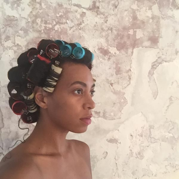 It's always that one loose curl!! #Solange
