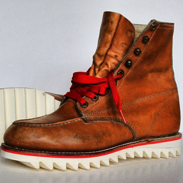 Gentleman shoes, Red wing boots