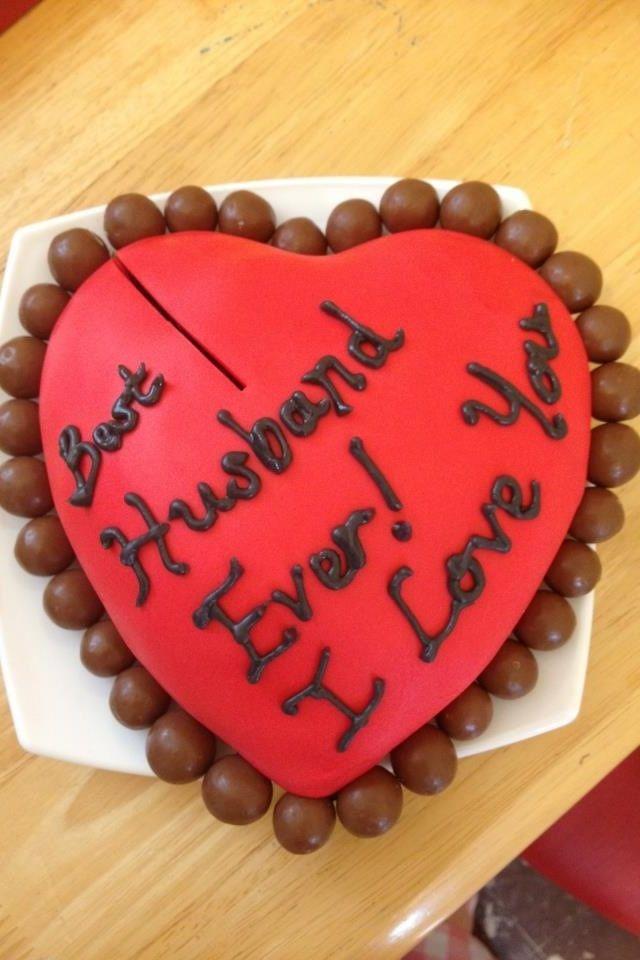 My Husbands Valentines Cake Cake For Husband Valentine Cake Husband Valentine