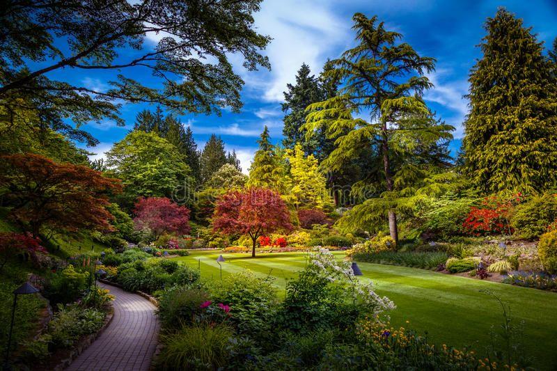 Butchart Gardens in Victoria, Canada. Butchart Gardens in