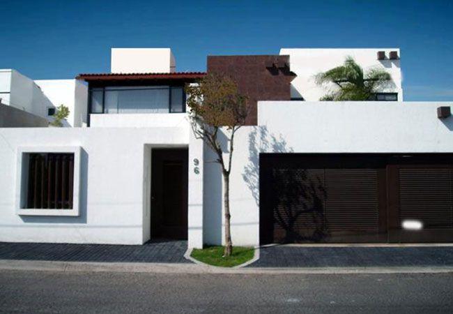 Fachadas de casas modernas de dos niveles casas for Casas sencillas pero bonitas