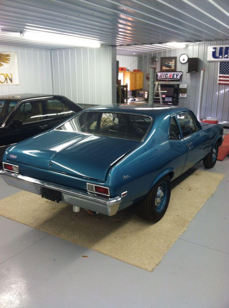 68 nova barn find Chevy muscle cars, Chevrolet nova