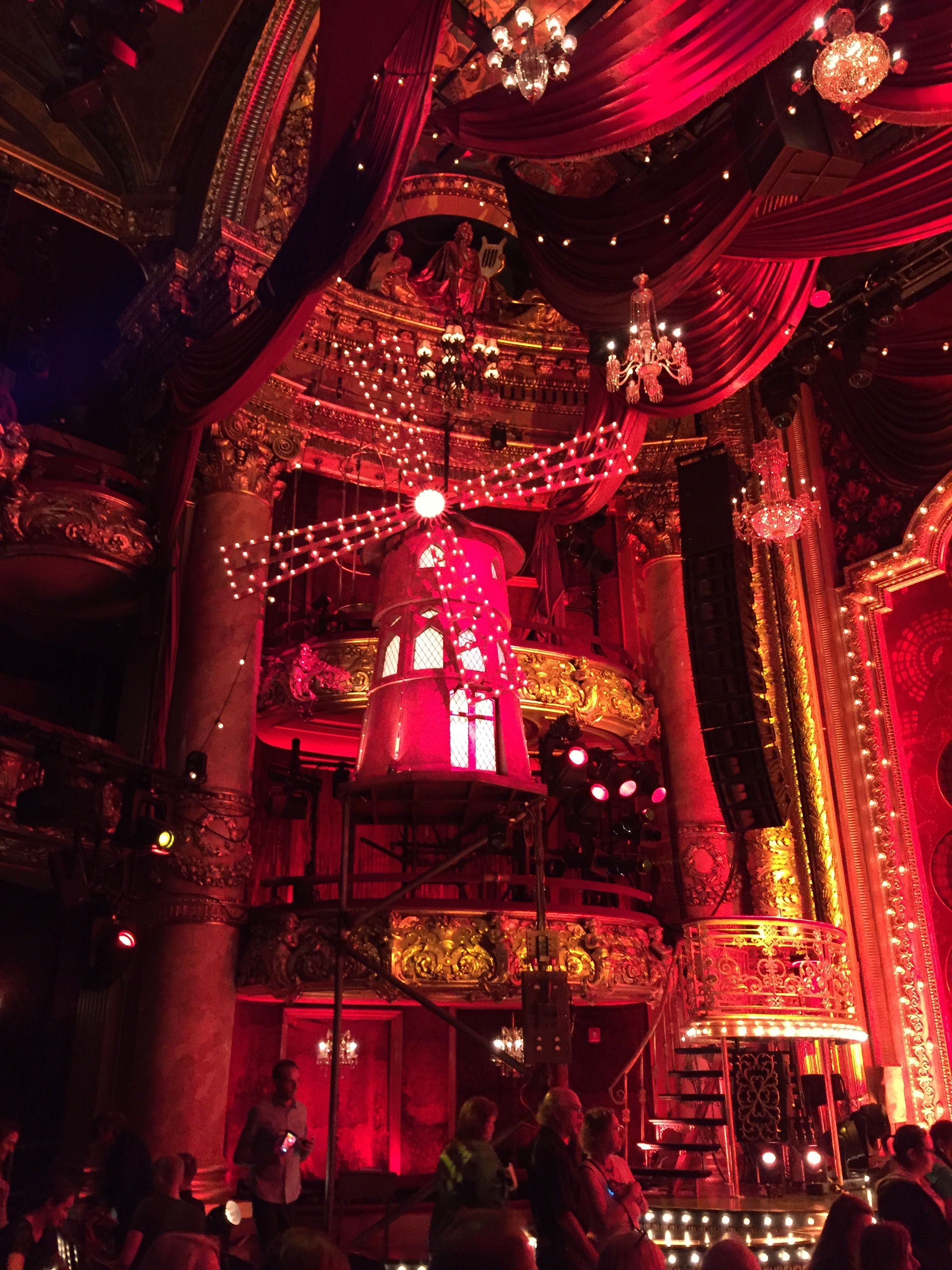 Moulin Rouge, The Musical. Emerson Colonial Theater ...