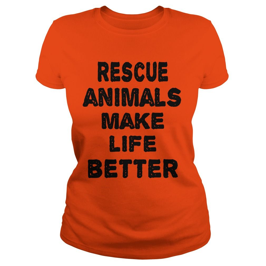 Rescue Animals Make Life Better