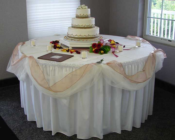 Cocktail Table Decorations Ideas how to dress up your cocktail tablewmv youtube Covers For Cocktail Tables Ideas Burgundy Embroidered Overlays English Inn Tulle With Cappuccino White