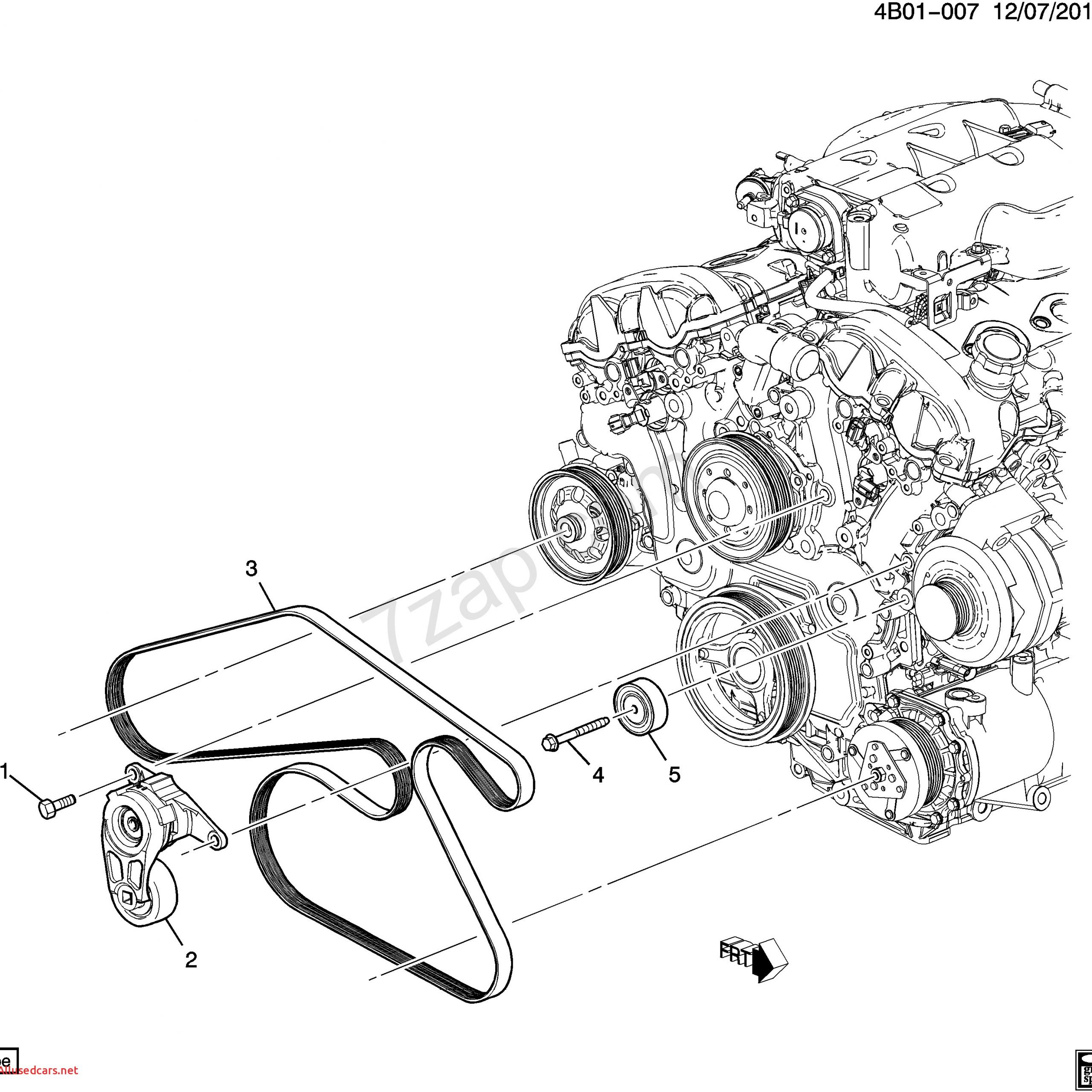 Chevy Captiva Sport New 2012 2015 Lr Pulleys Belts Accessory Drive Lfw 3 0 5 Captiva Sport Belt Accessories Chevy