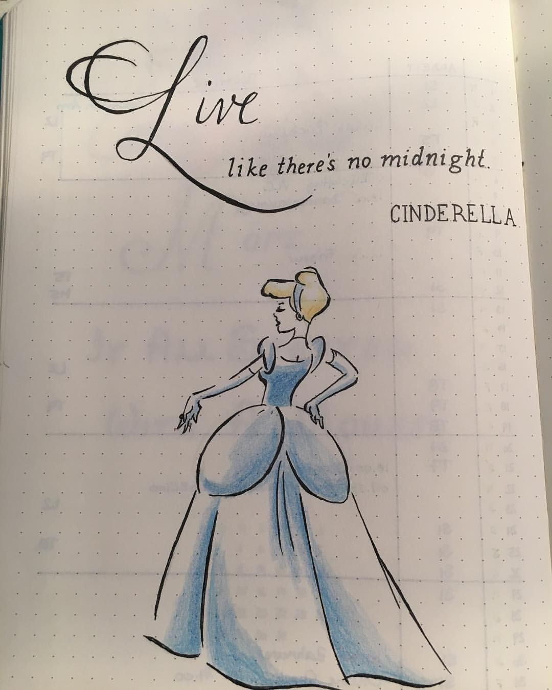 Not that I can draw this good but I love the saying ...