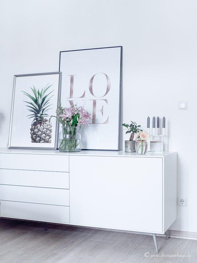 Warum ein Sideboard in keinem Wohnzimmer fehlen darf und wie man - wohnzimmer sideboard design