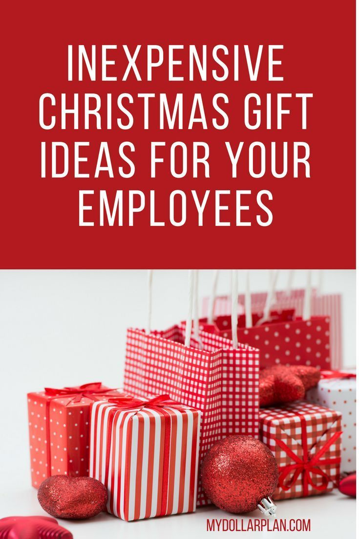 Inexpensive Christmas Gift Ideas for Your Employees