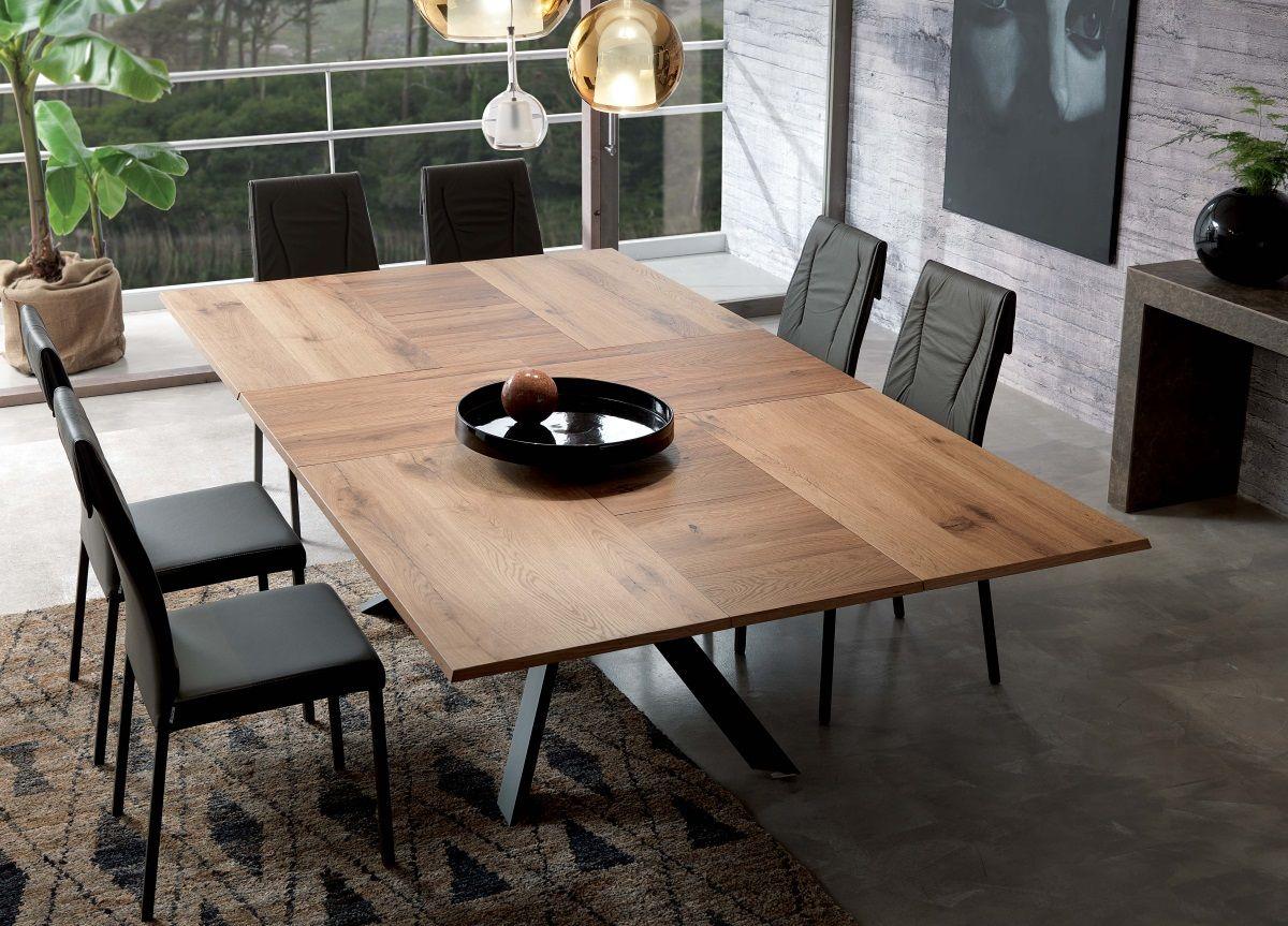Ozzio 4x4 Extending Dining Table