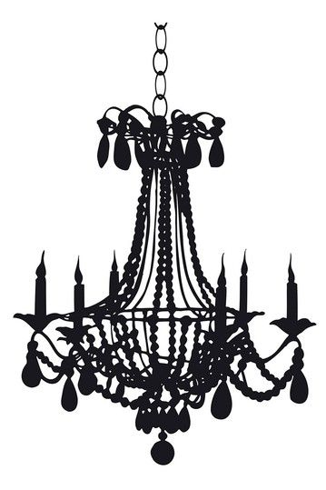 Wallpops Chandelier Wall Decal Wall Decals Chandelier Girly