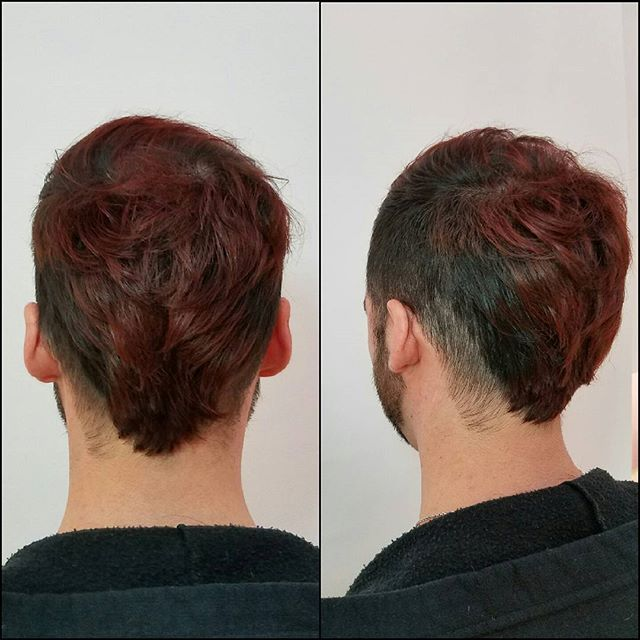 #justblo #blossomatblo #redkenobsessed #ombreformen #menhaircut #bloraleigh #blotime #hairbykim