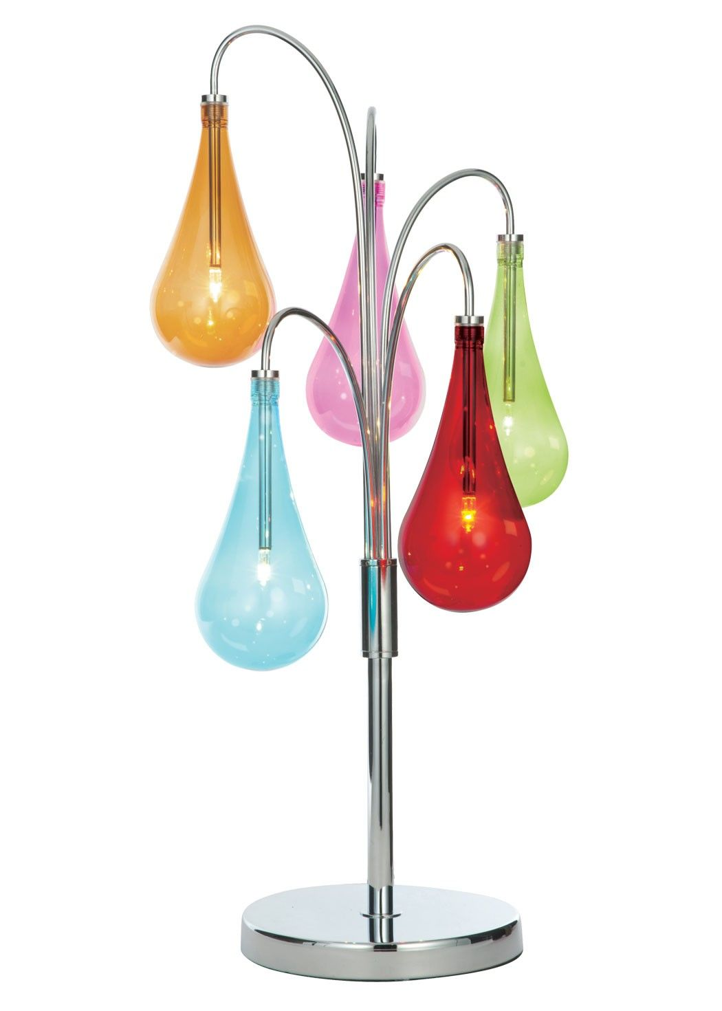 Niro 5 light table lamp creative table lamps pinterest glass niro 5 light table lamp add some fun to your interiors with this funky table lamp exclusive to pagazzi lighting finished in polished chrome aloadofball Image collections