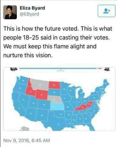 Respect for Millennials! Soon the largest generation since the Boomers will be heard. |18-25 Voting in 2016.