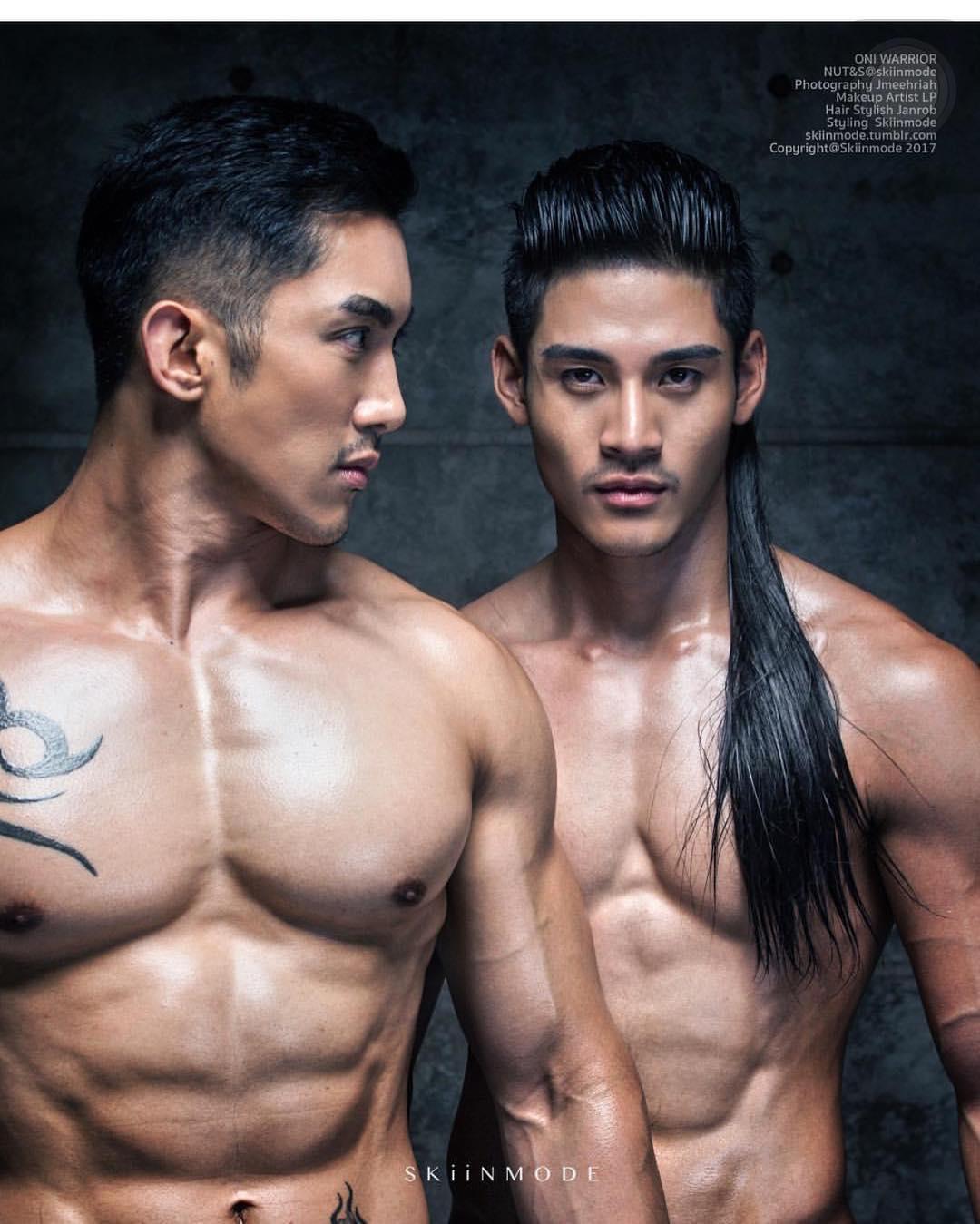 Erotic asian men