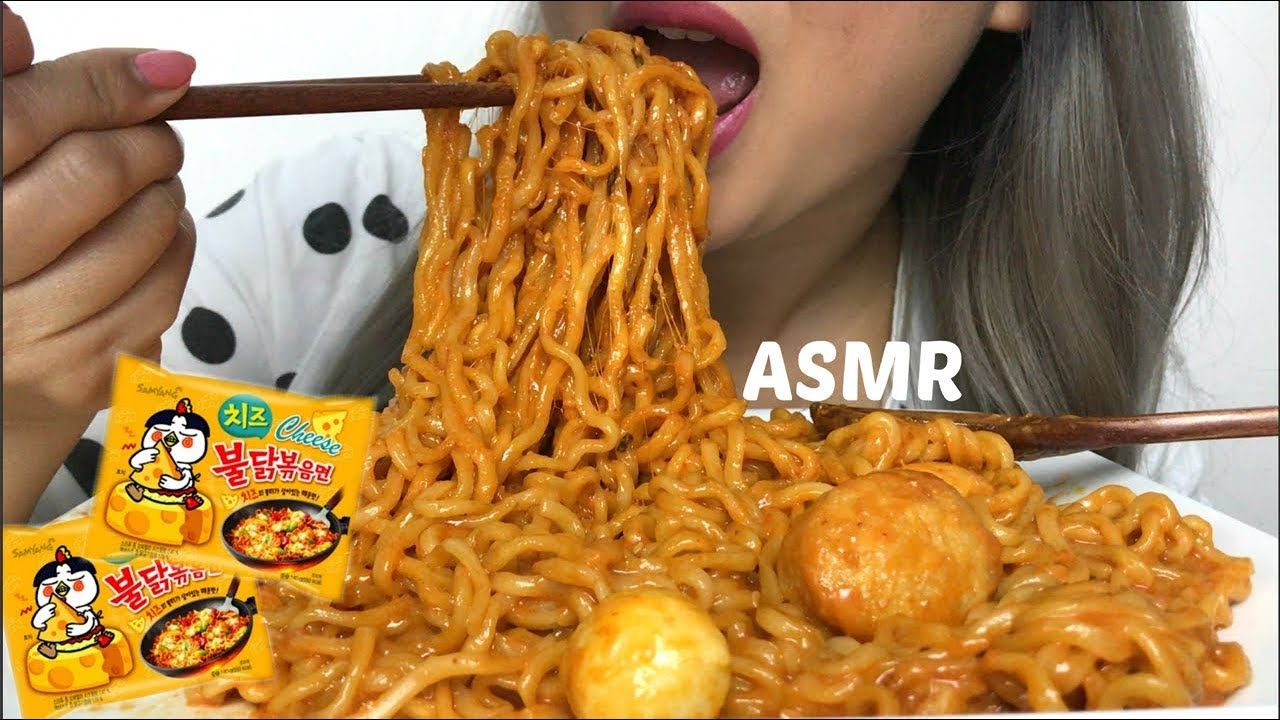 Asmr Cheesy Spicy Ramen ˨¹ë°© Samyang Noodles N E Lets Eat Spicy Ramen Spicy Ramen Noodles Spicy Ramen Recipe My name is sas and i love making videos :). asmr cheesy spicy ramen 먹방 samyang