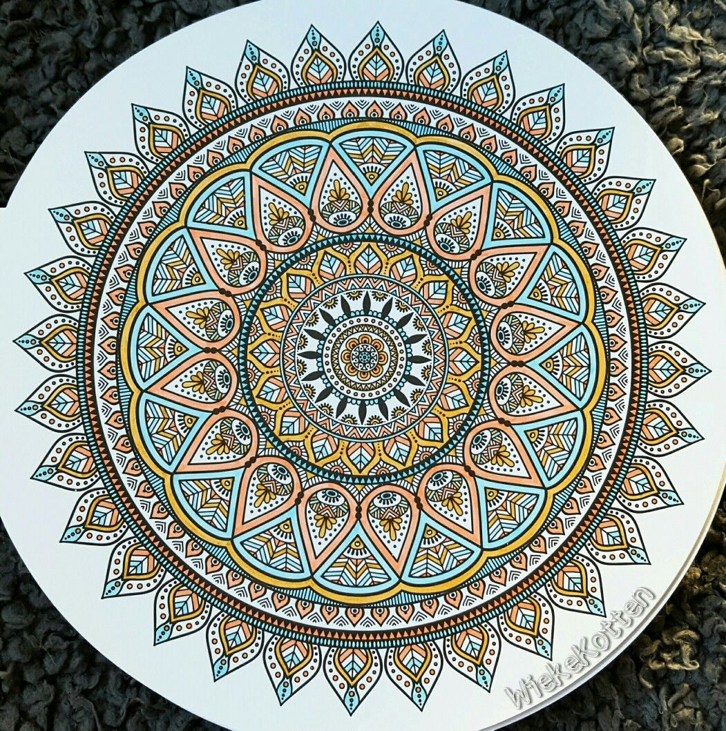 Soft Color Mandala Silhouette Stencil Colorful Pictures Mandala