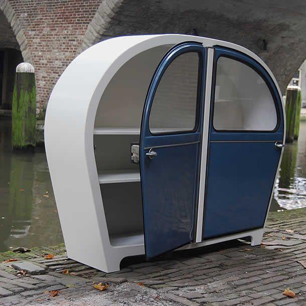 Cabinet 2CV by Jeroen Wesselink