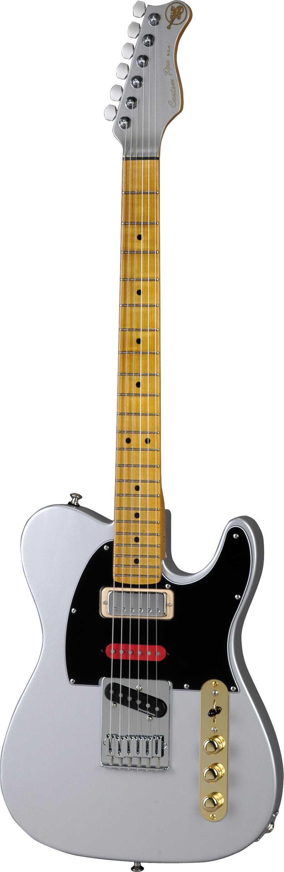 Valley Arts Brent Mason Signature Model Electric Guitar  Maple neck. Swamp ash body. Gibson mini-humbucker, Duncan Hot Stack, and Duncan vintage lead stack pickups. Out of production http://www.zzounds.com/item--VATVAMSS1MPHF1