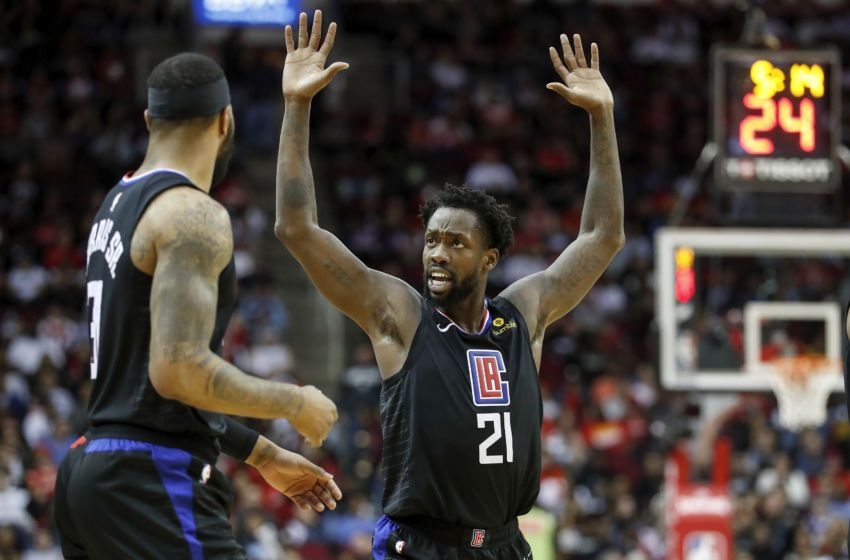 La Clippers News Patrick Beverley Departs The Orlando Bubble In 2020 Beverley La Clippers Anthony Davis