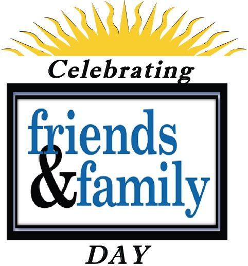 Friends Day Family Day Friends Family