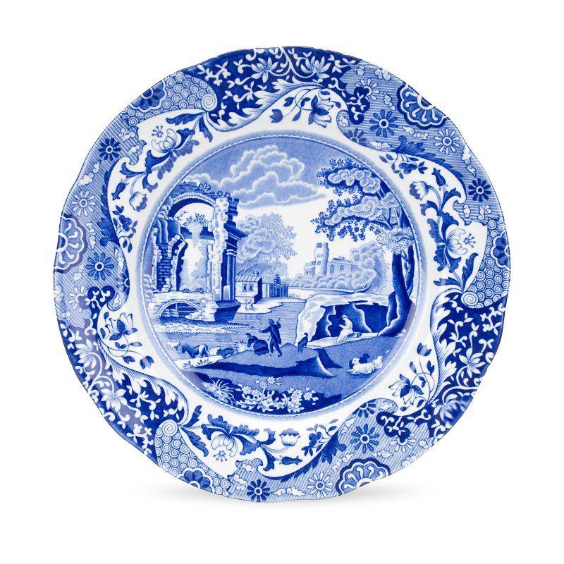 Spode Blue Italian Luncheon Plate - Set of 4 - 1532764