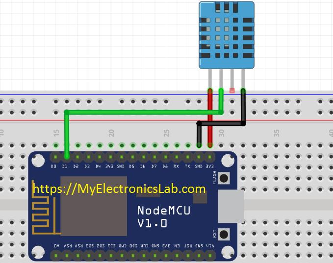 dht11-esp8266-circuit-diagram | Arduino in 2019 | Arduino webserver