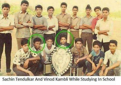 Sachin & vinod Kambli