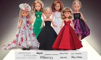 7829f1951d5 Consigue los vestidos de los grandes diseñadores de la moda española para  Nancy. ¡Revive la historia de Nancy!