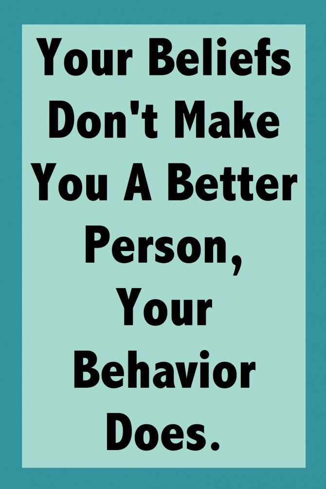 Becoming A Better Person…