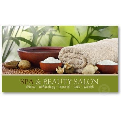 Spa business card pinterest business cards spa and business spa business card spa aromatherapy zazzle reheart Image collections