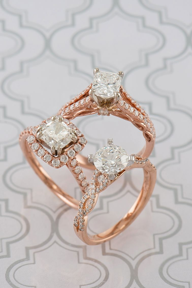 Are you dreaming of a rose gold engagement ring browse the many