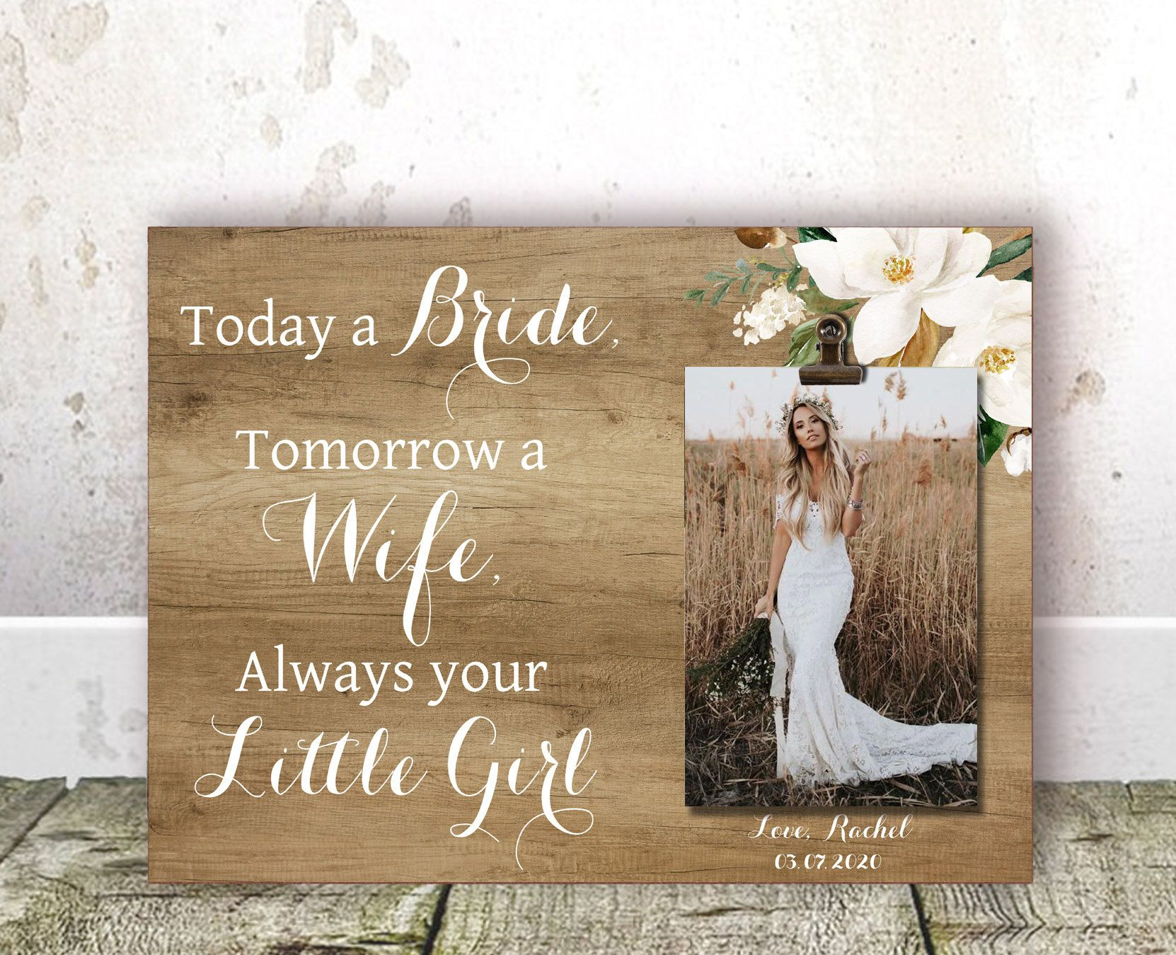 Mother Of The Bride Gift From Daughter Mother Wedding Gift Mom