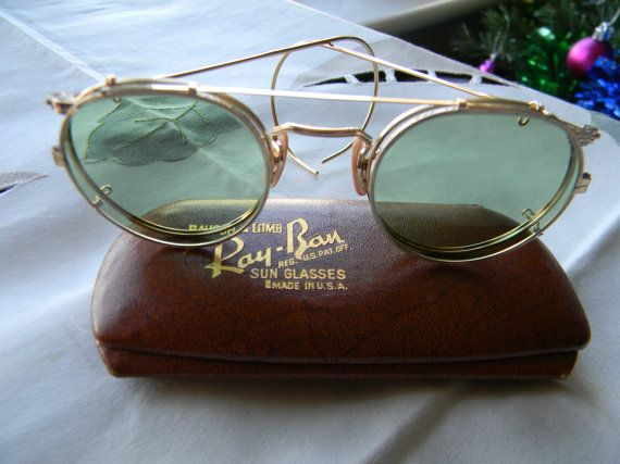 ray ban clip on sonnenbrille