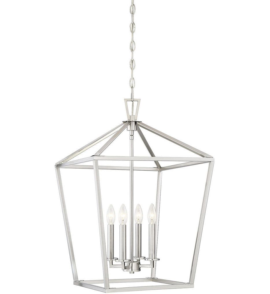 Savoy House Townsend 17 Pendant Chrome Pendant Light Kitchen Lantern Pendant Lighting Silver Pendant Lights Kitchen