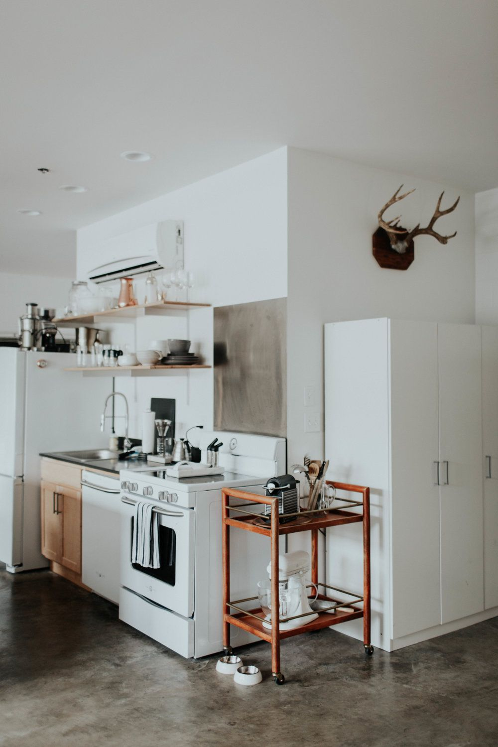 ideas for kitchen cabinets abby roses gt gt home tour dwell kitchens 18648