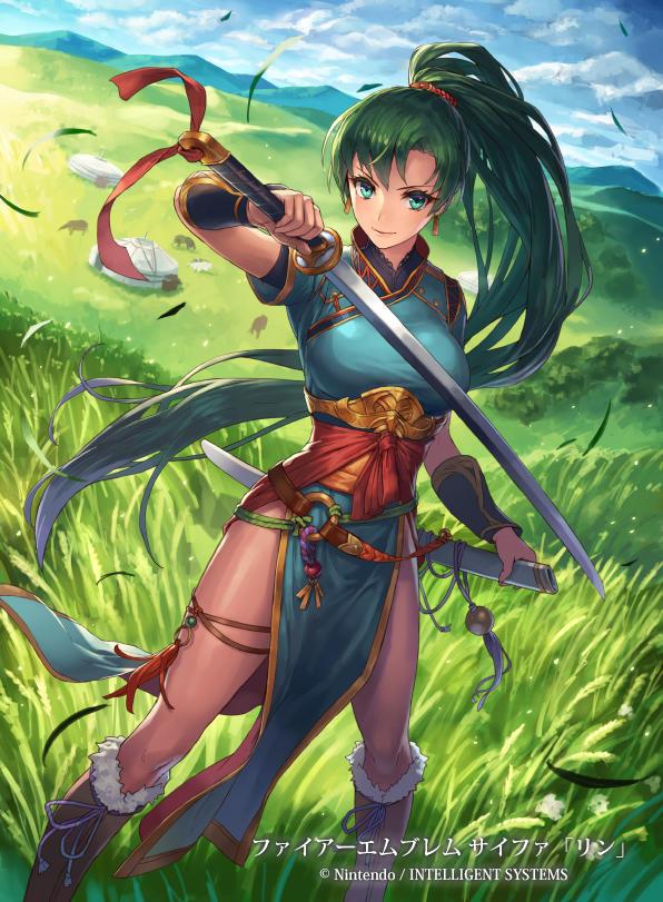 Fire Emblem - Lyn