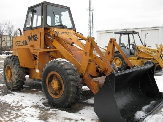 Case W18, W20, W20B Wheel Loader PIN 9123140 Service