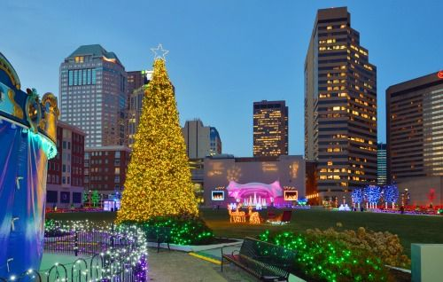 Where To See Christmas Light Displays In Columbus Ohio Holiday Lights Display Christmas Light Displays Holiday Lights
