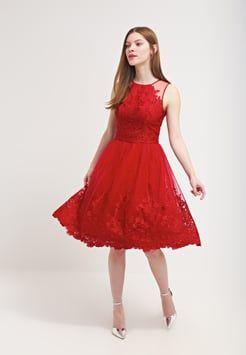 3da8cb56295b3d Chi Chi London - LEONA - Cocktailkleid / festliches Kleid - red ...
